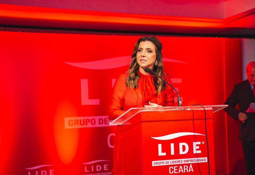 Emília Buarque adianta o tema da próxima live exclusiva do LIDE Ceará