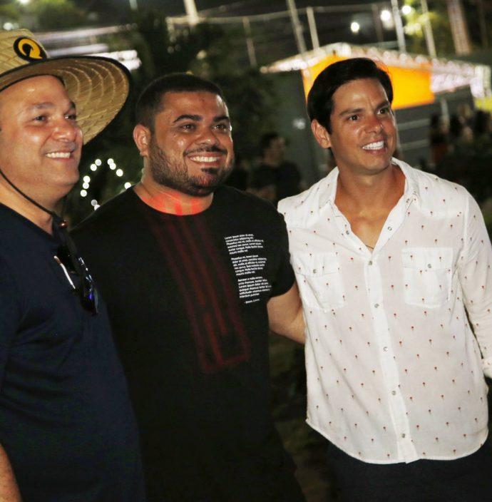 Enio Cabral, Julio Filho E Italo Girao