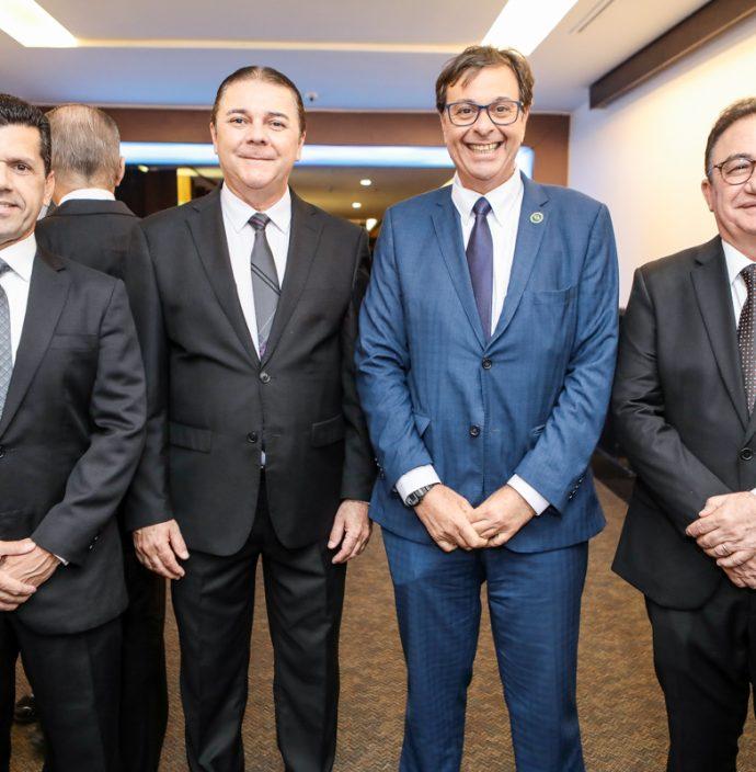 Erick Vasconcelos, Eliseu Barros, Gilson Machado E Manoel Linhares