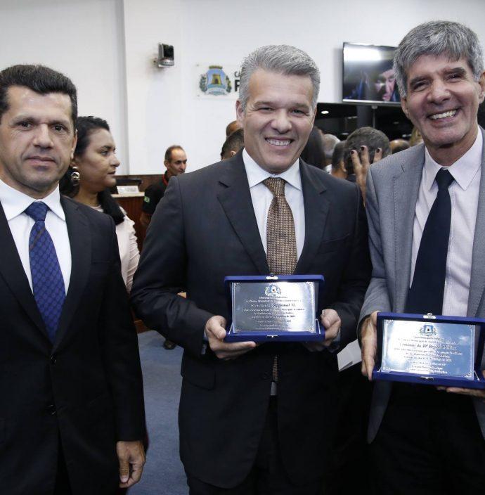 Erick Vasconcelos, Ferruccio Feitosa E Coronel Benicio