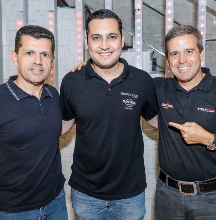 Erick Vasconcelos, Luiz Sobreira E Carlos Galvao