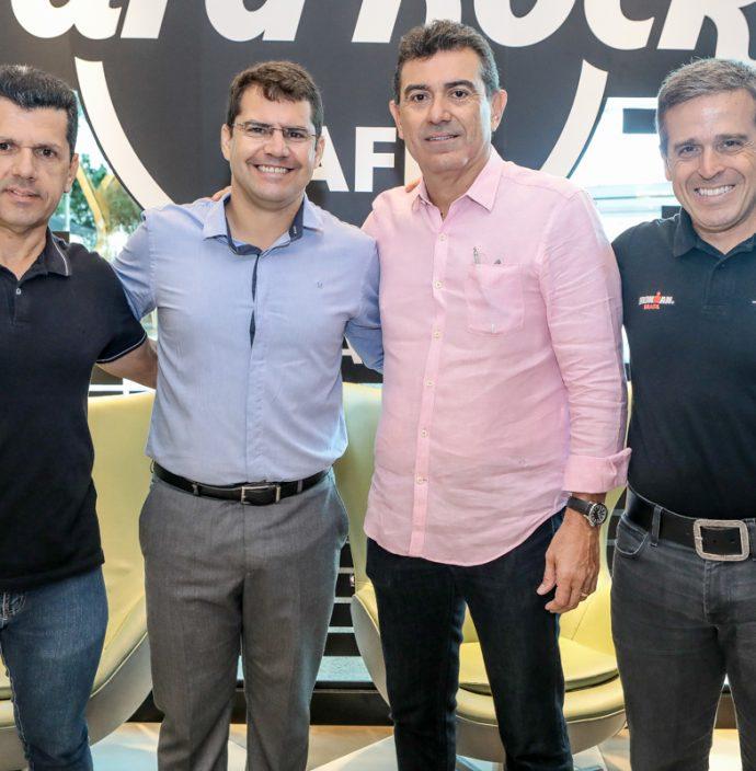 Erick Vasconcelos, Rogerio Pinheiro, Alexandre Pereira E Carlos Galvao