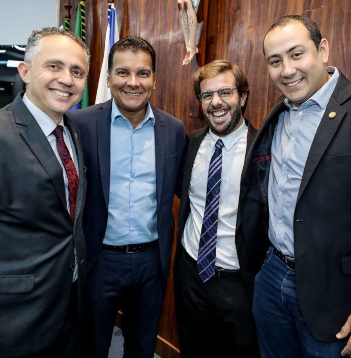 Evaldo Lima, Esio Feitosa, Claudio Nelson E Renan Colares