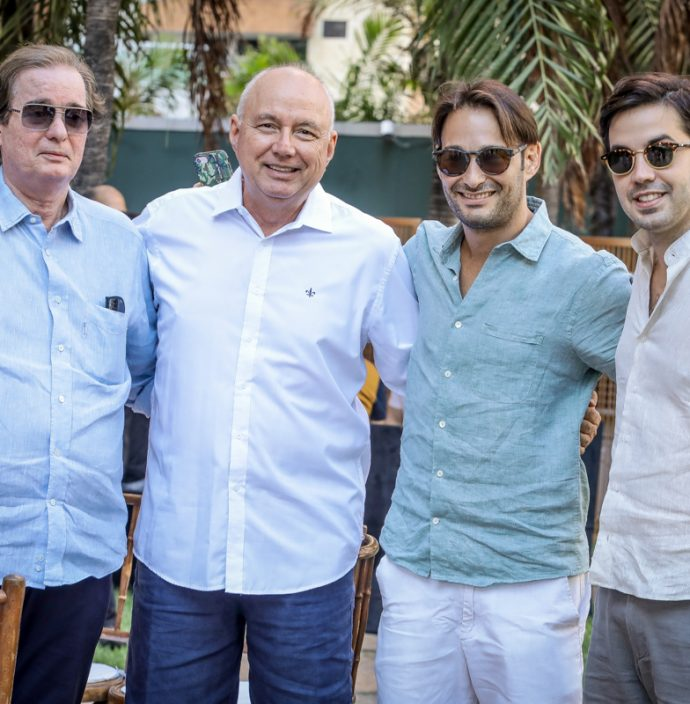 Fabio Rocha, Egueberto Diogenes, Claudio Rocha E Netinho Bayde