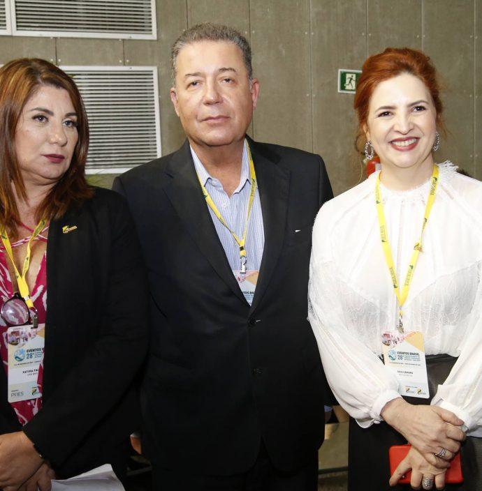 Fatima Facuri, Alexandre Sampaio E Enid Camara