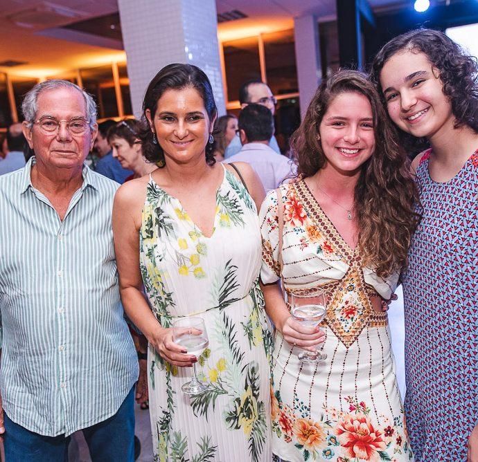 Felipe Seligmann, Cecilia Herrero, Sofia Herrero E Neila Pereira