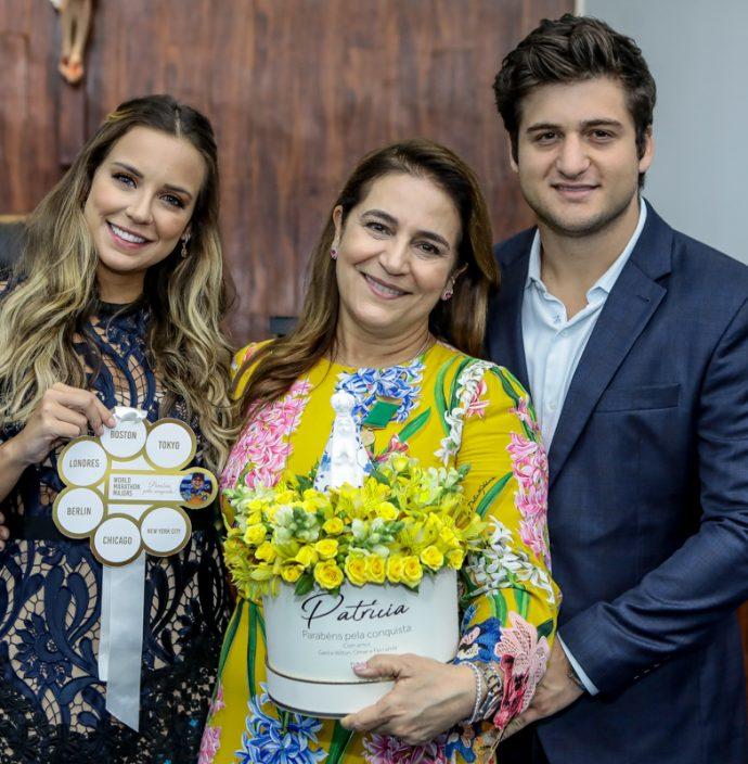 Fernanda, Patricia E Omar Macedo