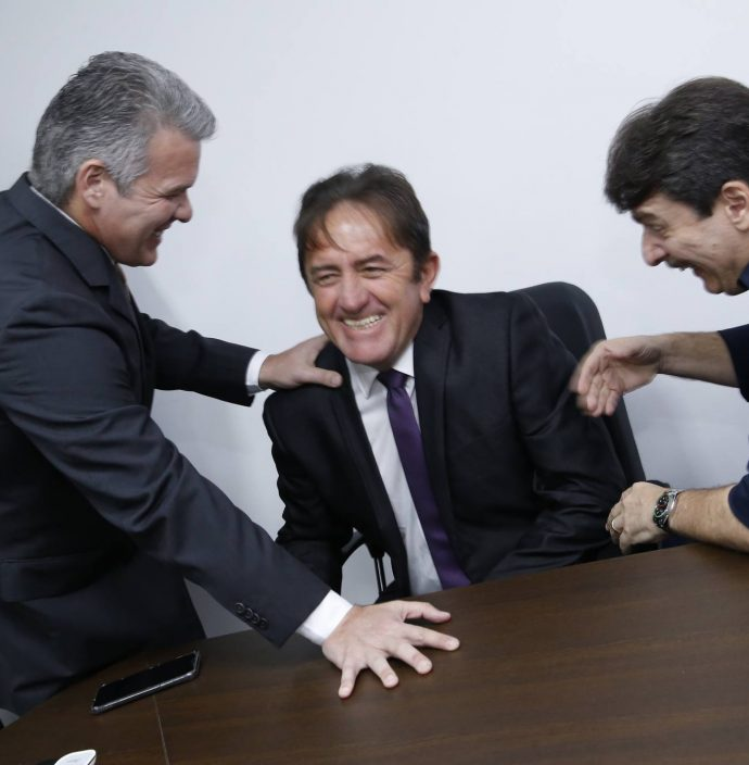 Ferruccio Feitosa, Adail Junior E Raimundinho Feitosa