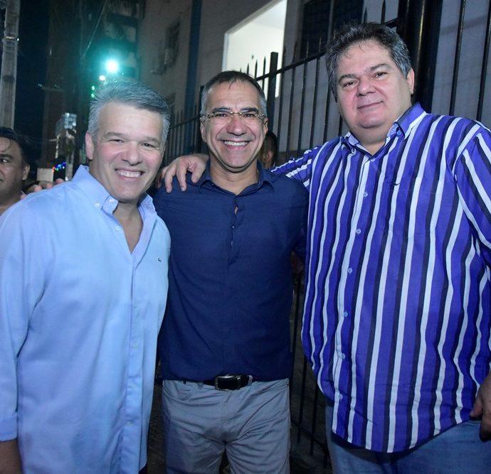 Ferruccio Feitosa, Felipe Uchôa, Osmar Baquit