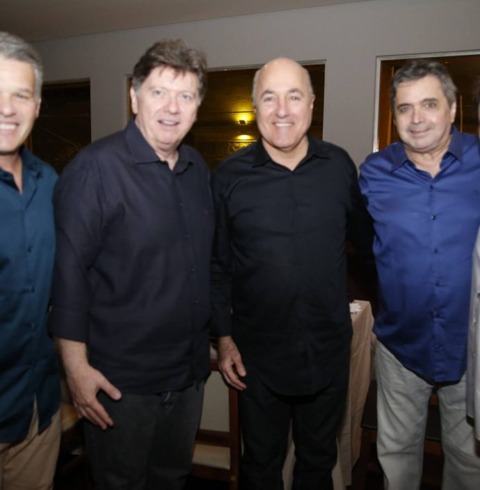 Ferruccio Feitosa, Marcos De Paula Pessoa, Silvio Frota, Totonho Laprovitera E Raimundinho Feitosa