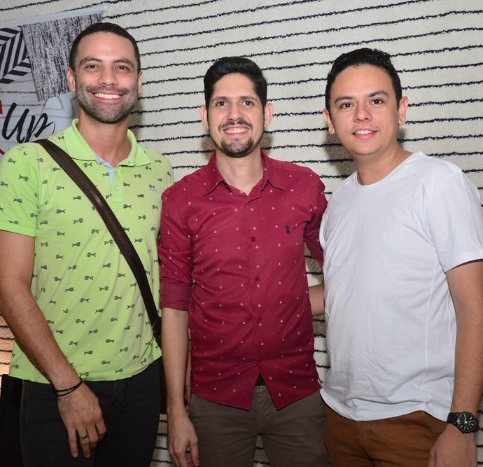 Filipe Andrade, Carlos Fabrício E Bruno Rebouças