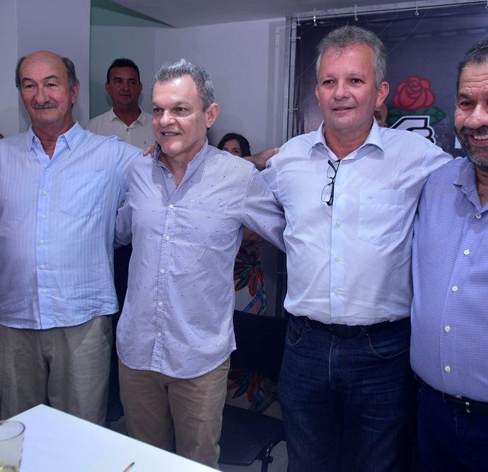 Flavio Torres, Dr. Sarto, André Figueiredo, Carlos Lupi