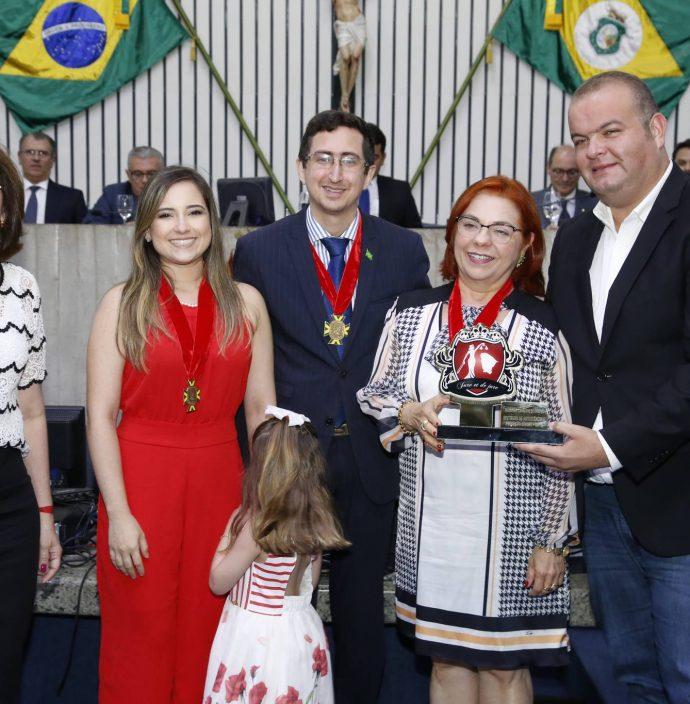 Francilene Brito, Itala Ribeiro, Roberto Victor, Vanja Fontenele E Fabio Bezerra