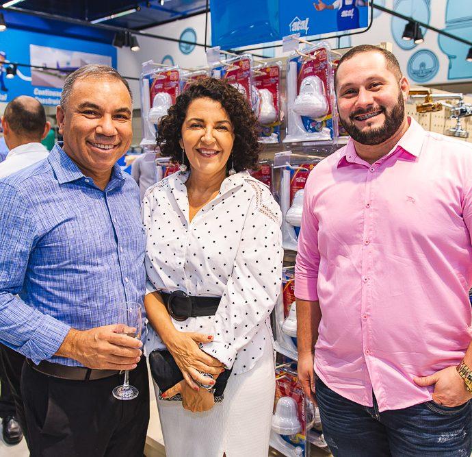 Francisco Fami, Claudia Soares E Felipe Fami