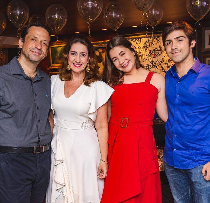 Fred Albuqueque, Vivian Albuquerque, Natalia Albuquerque E Marco Antonio Pompeu