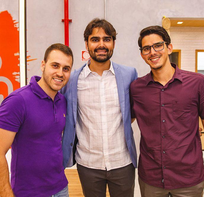 Frederico Azevedo, Gilberto Costa Filho E Tiago Cabral