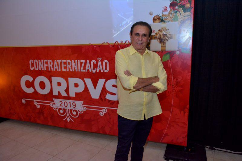 Tradição natalina - Gaudêncio Lucena pilota a tradicional confraternização de Natal da Corpvs