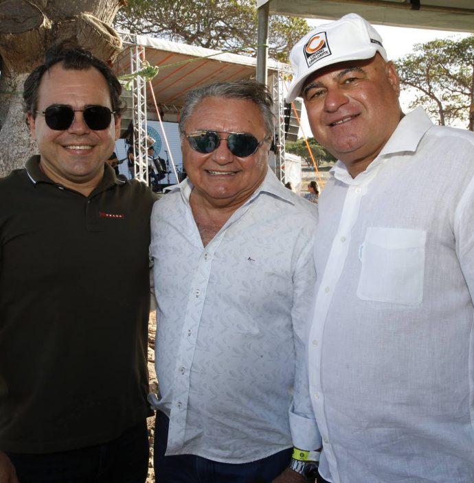 Gentil Linhares, Idemar Cito E Luciano Cavalcante