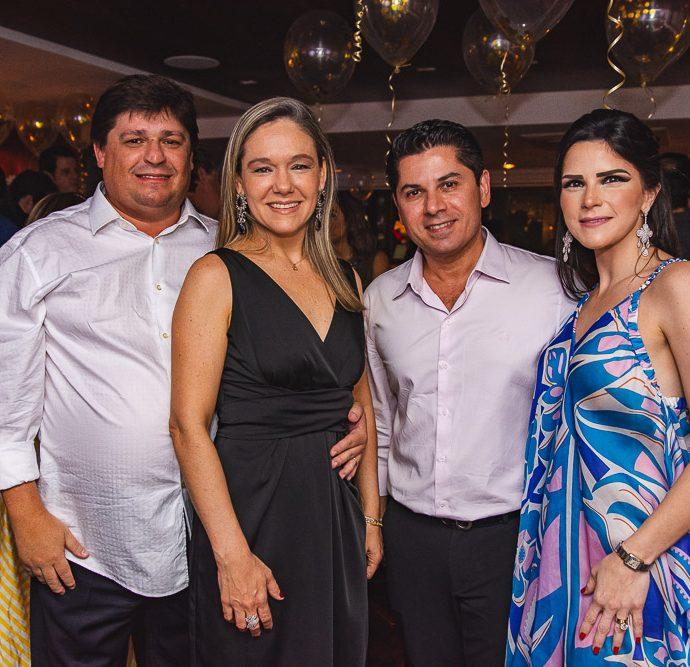 George Lima, Erika Lima, Pompeu Vasconcelos E Marilia Vasconcelos