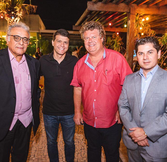 Geraldo Gadelha, Juliano Viana, Evandro Colares E Pompeu Vasconcelos