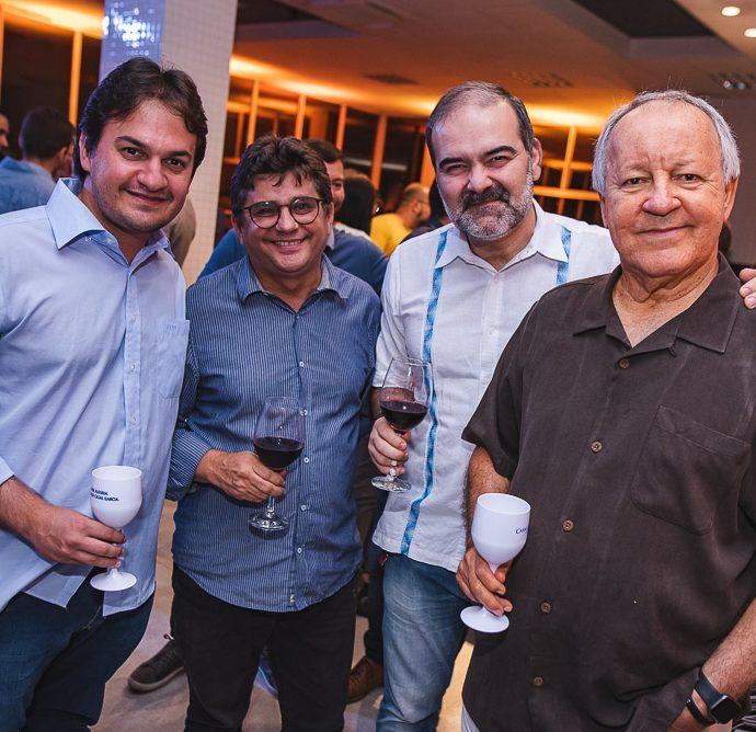 Geraldo Plurtaco, Adeilson Dos Santos, Bosco Couto e Crica Bezerra