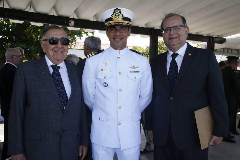 Solenidade - Escola de Aprendizes-Marinheiros do Ceará realiza cerimônia de formatura e Juramento à Bandeira