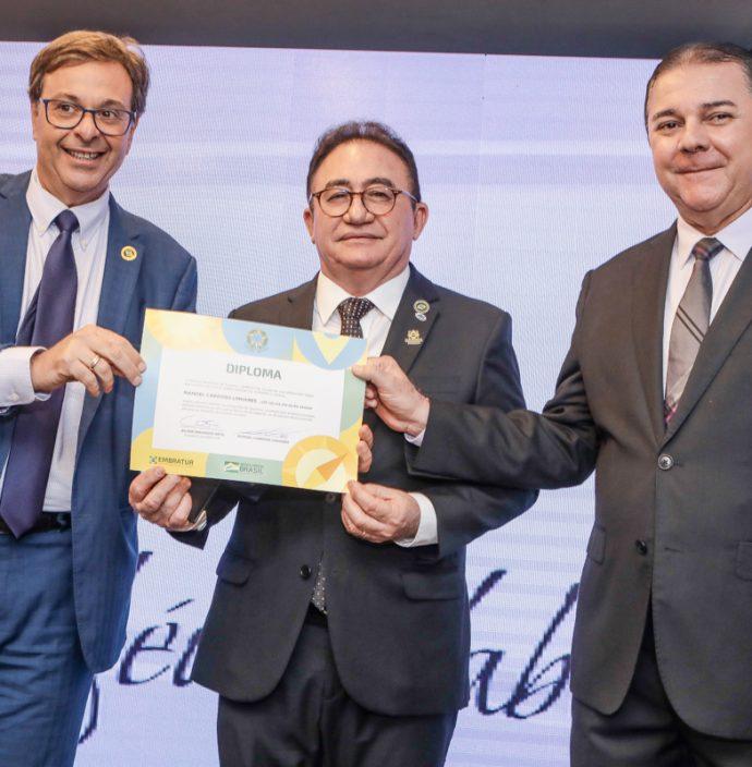 Gilson Machado, Manoel Linhares E Eliseu Barros