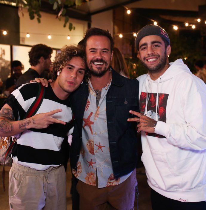 Harley Alves, Paulinho Vilhena E Pedro Scooby.