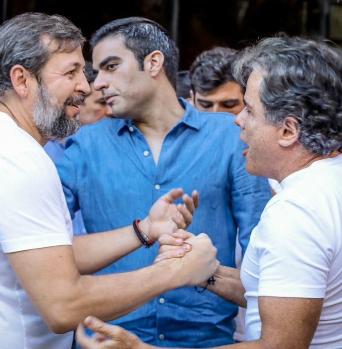 Élcio Batista, Rodrigo Nogueira E Ivan Bezerra