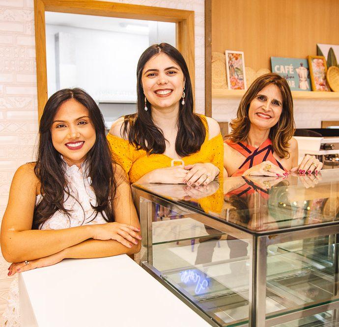 Helena Romero, Juliana Castro E Daniela Cabral