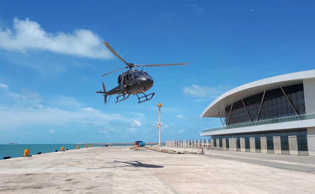 PF reativa o seu Núcleo de Polícia Marítima para atuar no Ceará