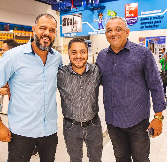 Henry Taterza, Bruno Evaristo E Edmundo Junior