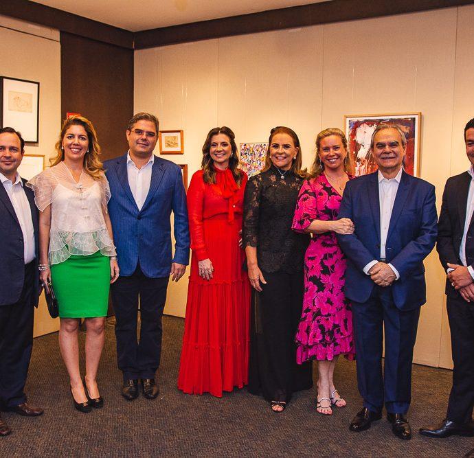 Igor Barroso, Ticiana Rolim Queiroz, Edson Queiroz Neto, Emilia Buarque, Beatriz Fiuza, Bia Perlingeiro, Max Perlingeiro E Kaka Queiros