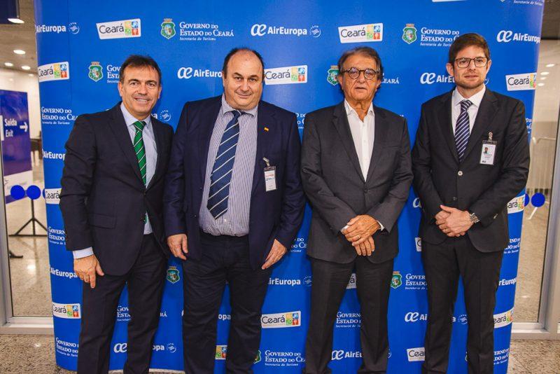 Imanol Perez, Jorge Borrell, Aroaldo Pinho E Gonzalo Romero