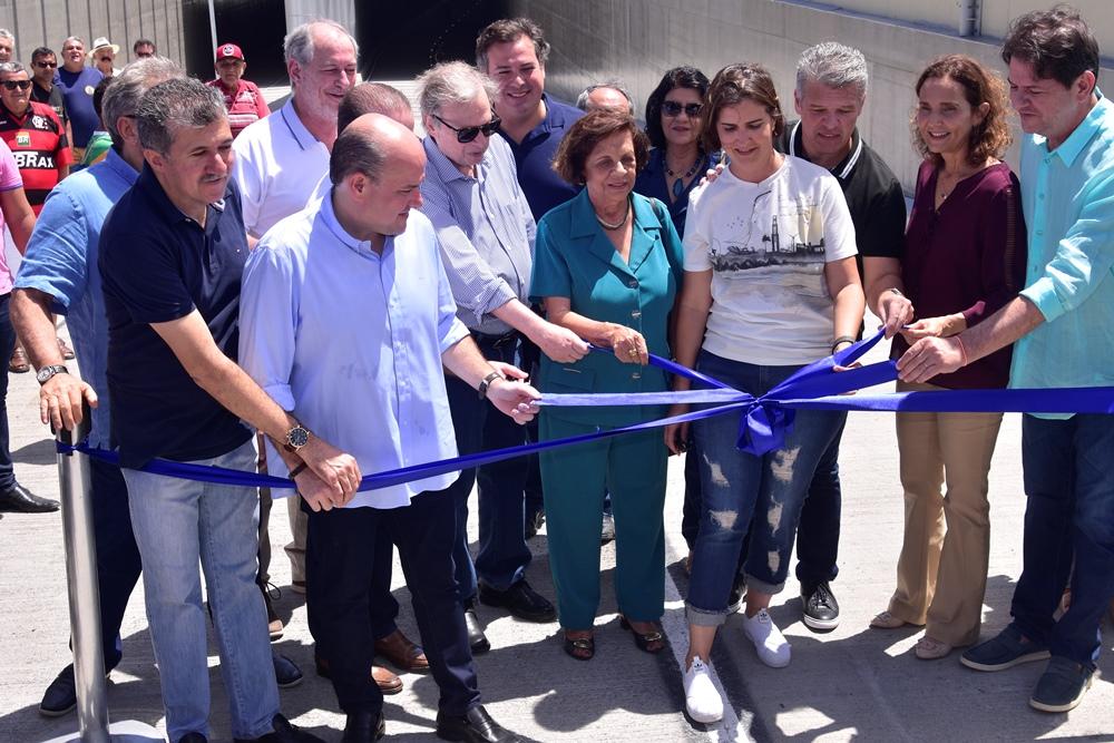 Roberto Cláudio e Izolda Cela inauguram túnel governador Beni Veras