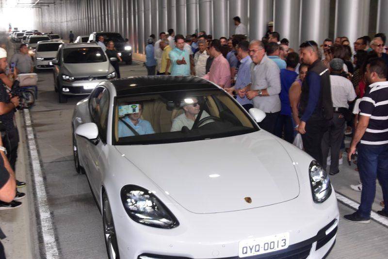 Via Expressa - Roberto Cláudio e Izolda Cela inauguram túnel governador Beni Veras