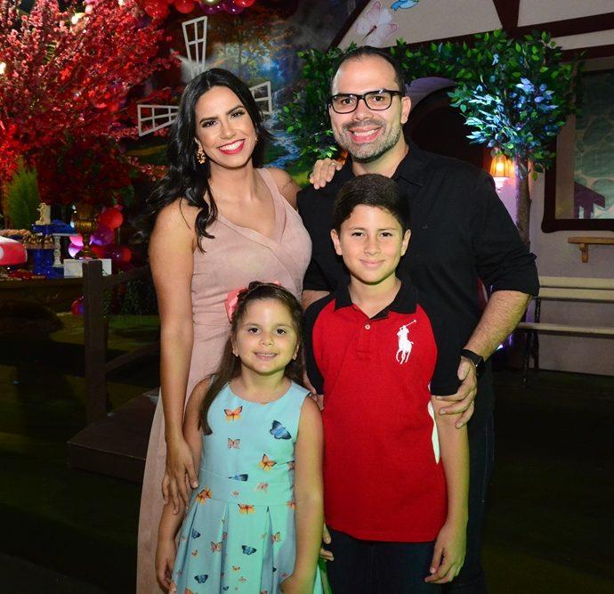Isa Xavier, Fernando Guanabara, Maria Fernanda E Arthur