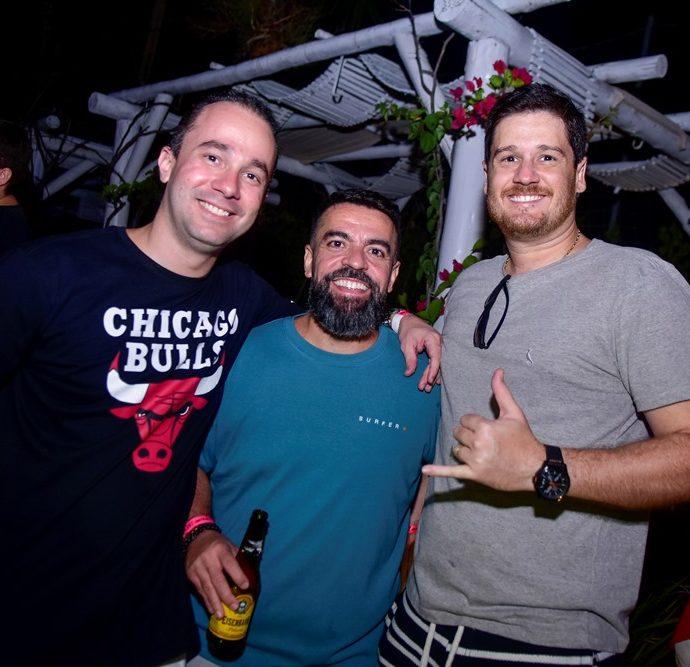 Iuri Rocha, Tacio Gurgel, Lucas Almeida