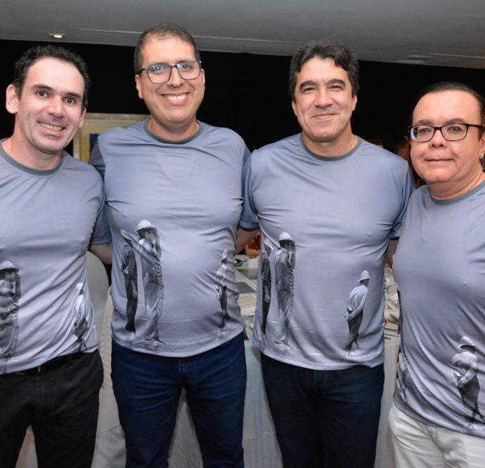 Janos Cavalcante, João Jorge Cavalcante, Paulo Teixeira E Alessandro Belchior