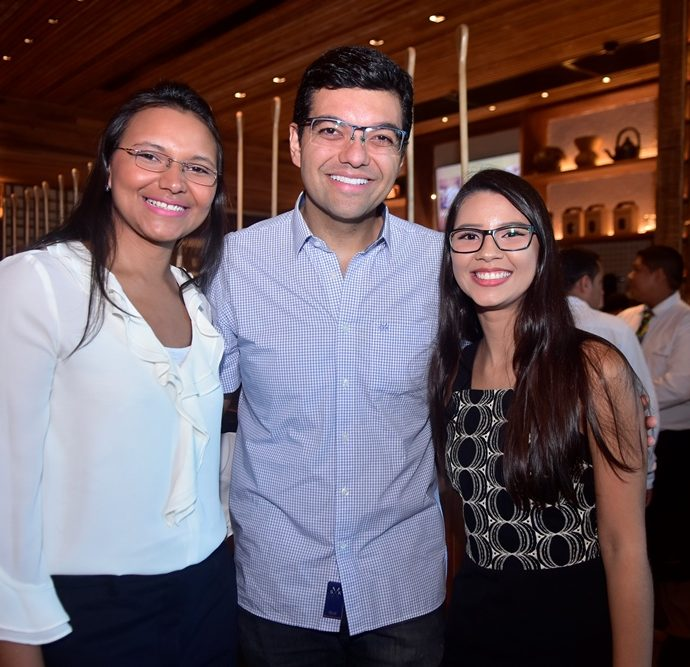 Jardeline Santos, Luiz Esteves, Ingrid Freitas