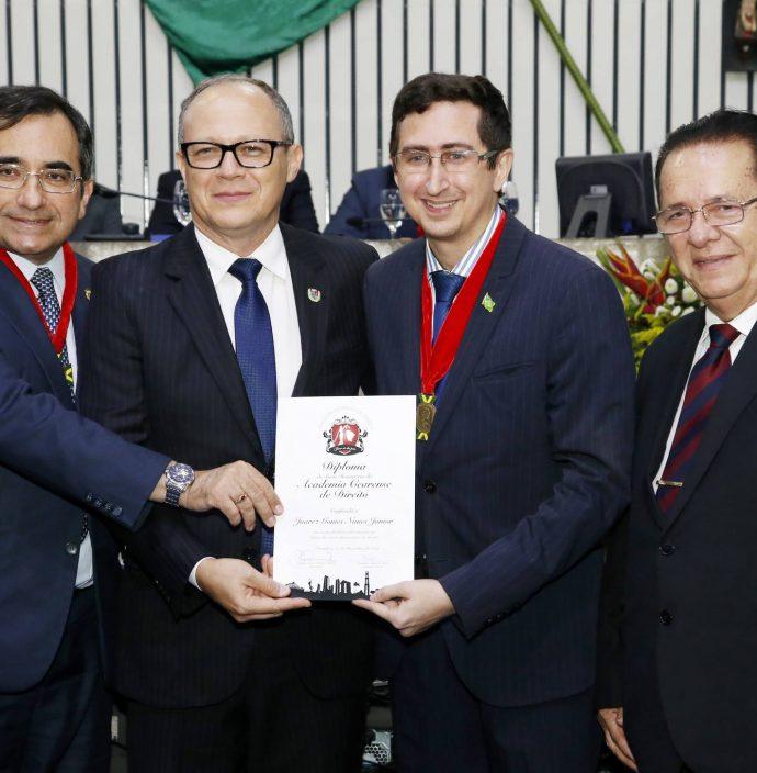 Jardson Cruz, Juarez Junior, Roberto Victor E Jose Valdo
