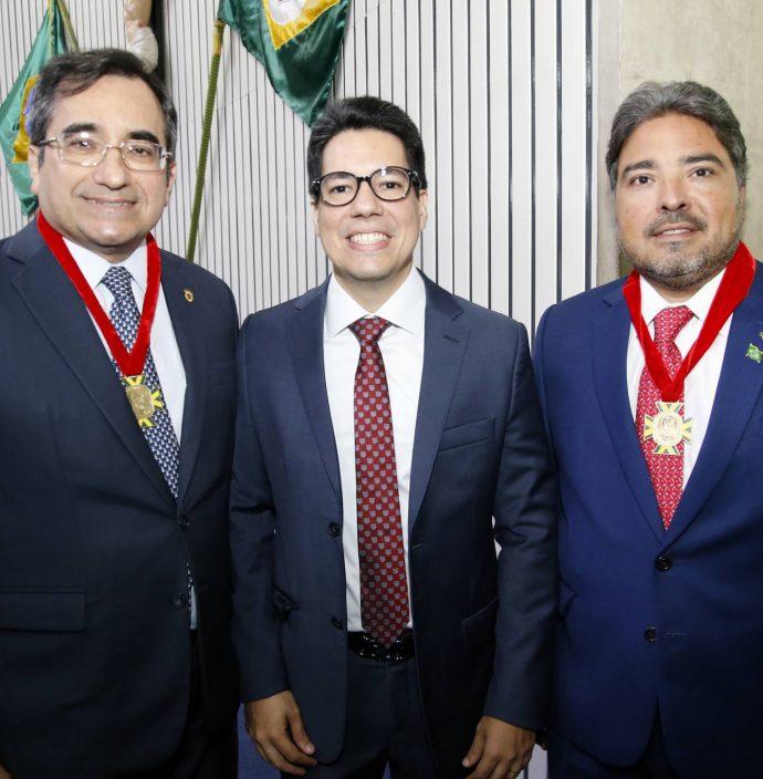 Jardson Cruz, Leandro Vasquez E Pedro Jorge