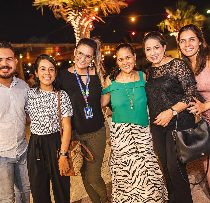Jeferson Andrade, Ana Magalhaes, Cecilia Sousa, Aline Loureiro, Ana Holanda E Monique Araujo