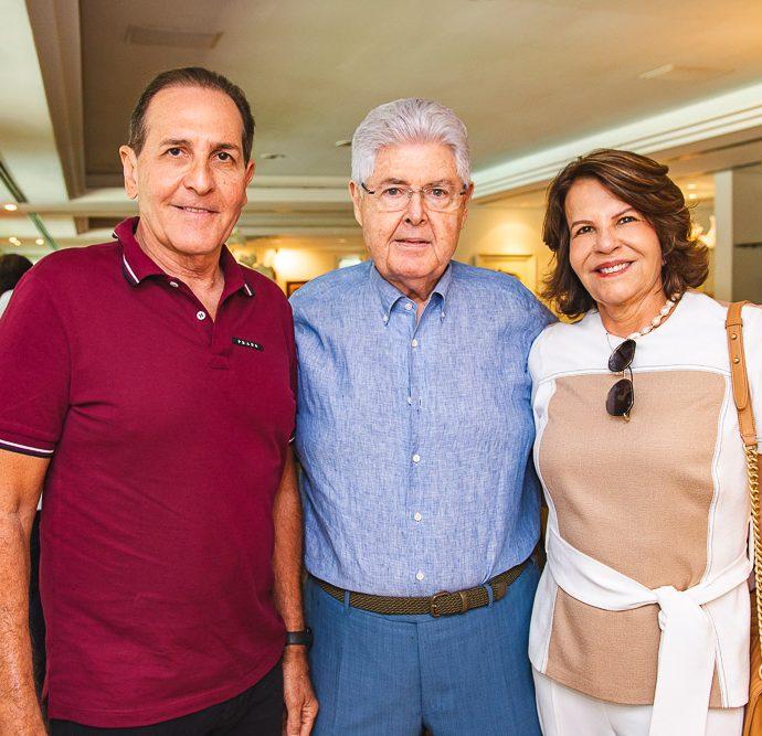 Joao Fiuza, Lucio Carneiro E Ana Fiuza