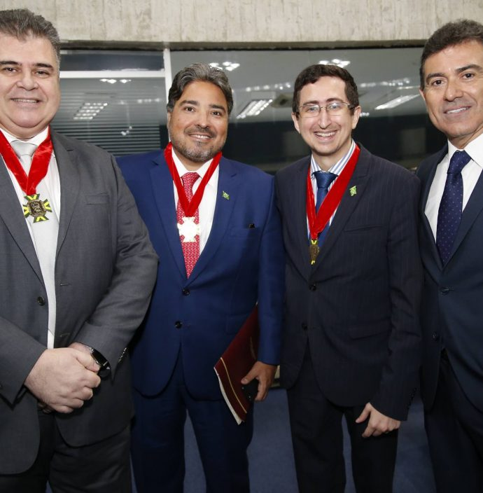 Joao Marcos Gomide, Leandro Vasquez, Roberto Victor E Alexandre Pereira