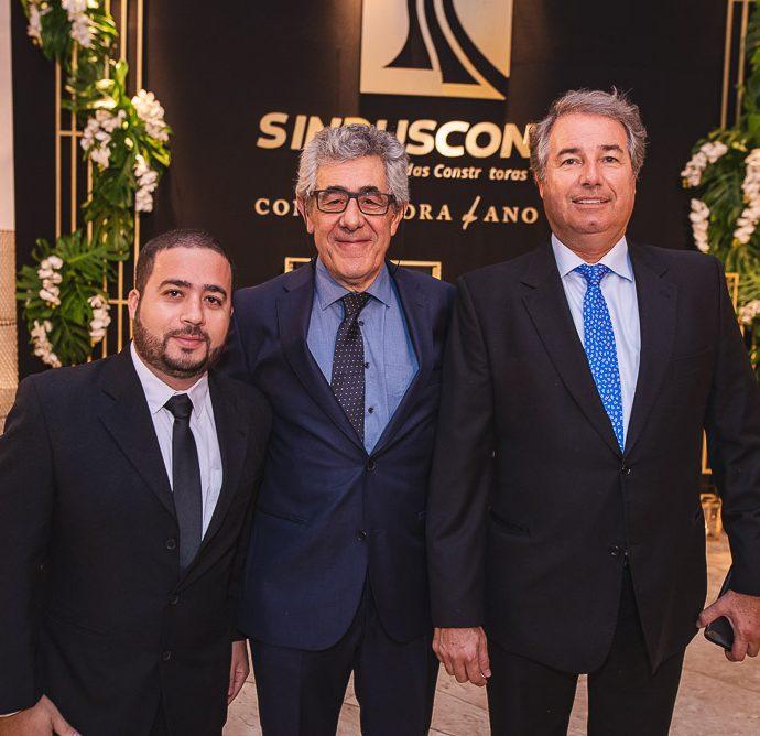 Jonas Sousa, Emanuel Mitsu E Carlos Teles