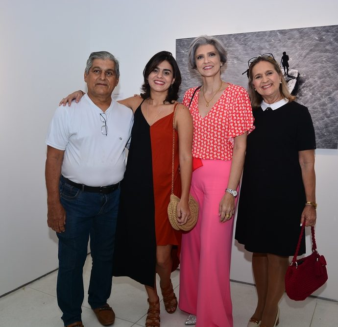 José E Raquel Morano, Luciana Otoch E Tereza Morano