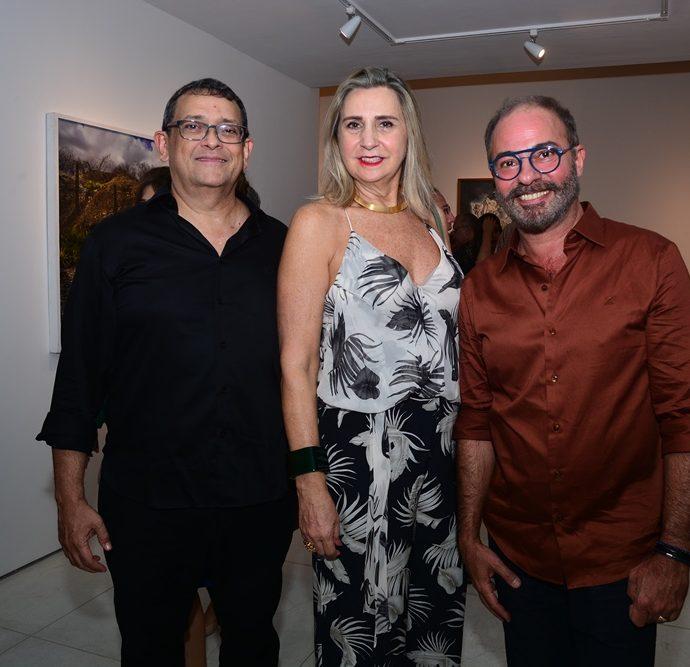 José Guedes, Ione Fiuza E Marcus Novais