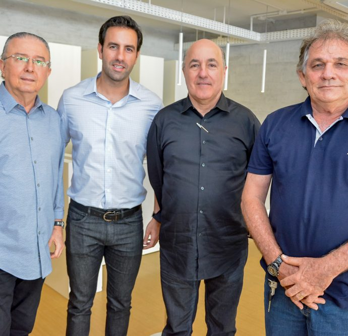 Jose Melo, Vitor E Silvio Frota E Eilson Gurgel