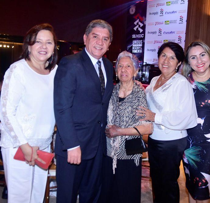Joselídia Góes, Sampaio Filho, Maria Leonídia Góes, Maria Mirene Góes E Iaci Mota Rocha